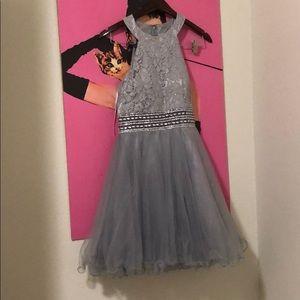 Gray short dress